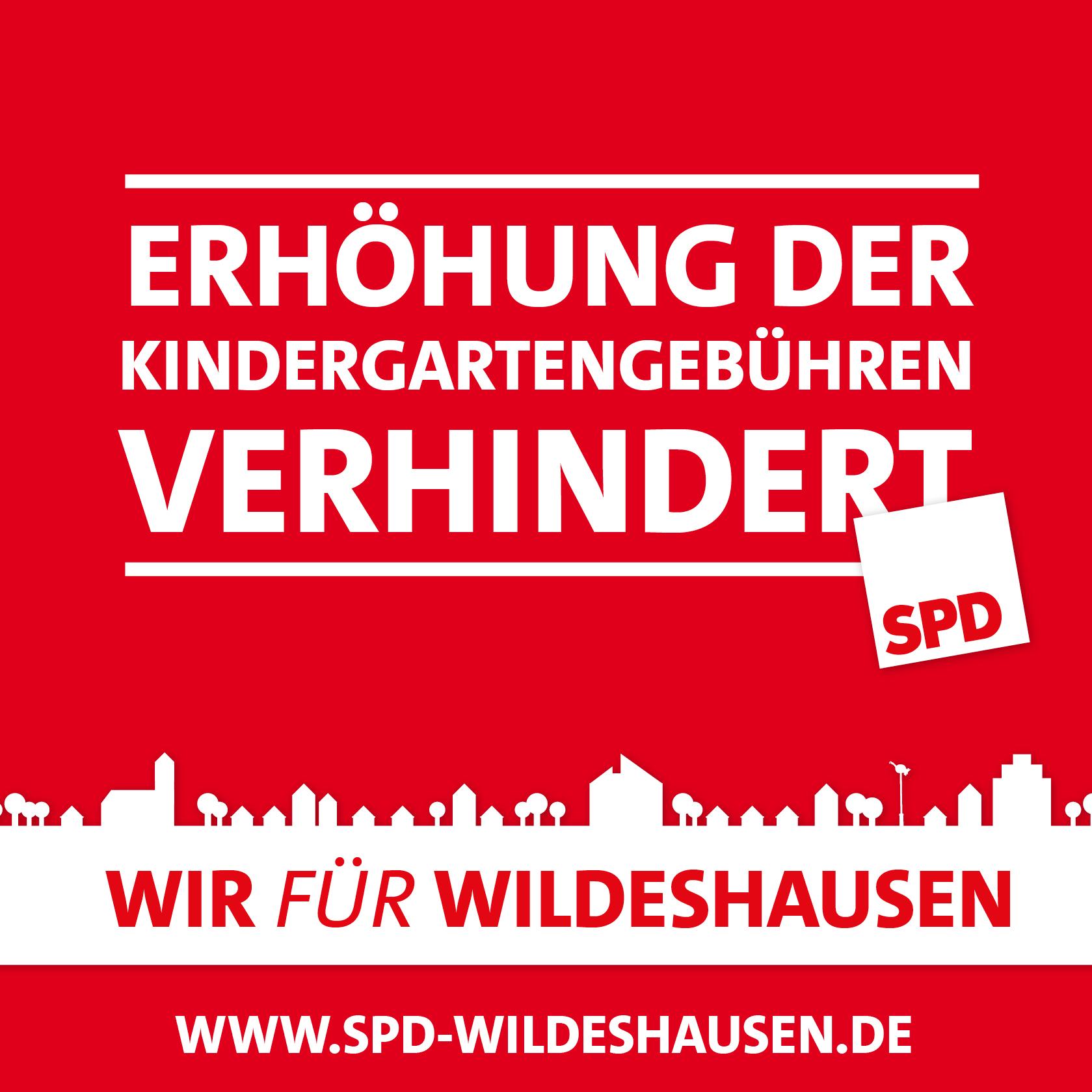 SPD gegen Erhöhung der Kindergartengebühren