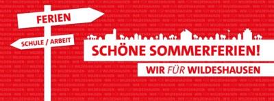 Die SPD Wildeshausen wünscht schöne Sommerferien
