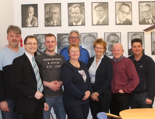 Treffen mit der Bundestagabgeordneten Susanne Mittag