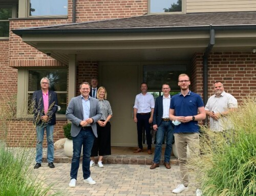 SPD-Europaabgeordneter besucht die Firma Hoffrogge