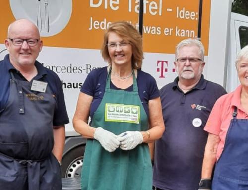 Susanne Mittag und die SPD Wildeshausen zu Besuch bei der Wildeshauser Tafel
